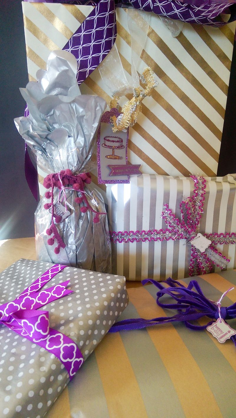 Heather bday packages