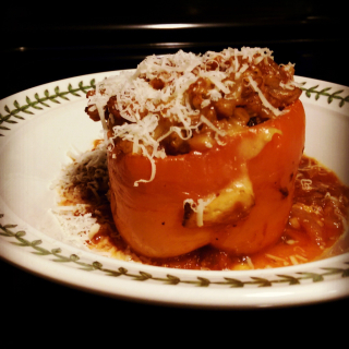 Stuffed pepper w instagram